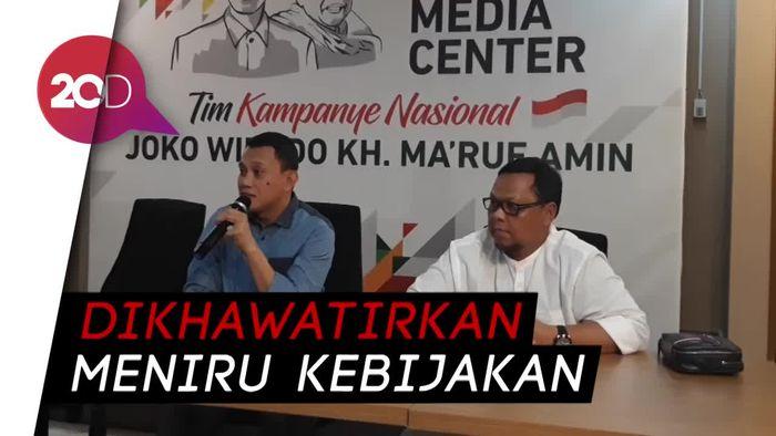 Prabowo Tiru Jargon Donald Trump, Tim Jokowi: Tidak Kreatif