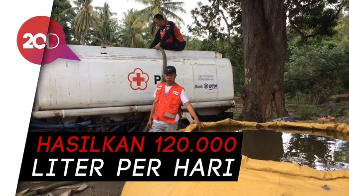 Intip Kamp Instalasi Pengolahan Air Bersih PMI di Palu, Yuk!
