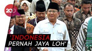 Prabowo Copas Slogan Trump, Sandi: Kenapa Mesti Dikritik?