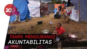Pemerintah Percepat Pencairan Dana Korban Gempa Lombok