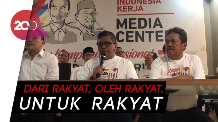 TKN Jokowi-Maruf Luncurkan Rekening Dana Kampanye