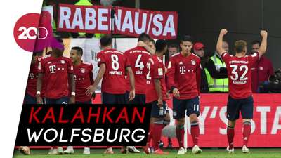 Leganya Kovac saat Bayern Munich Menang