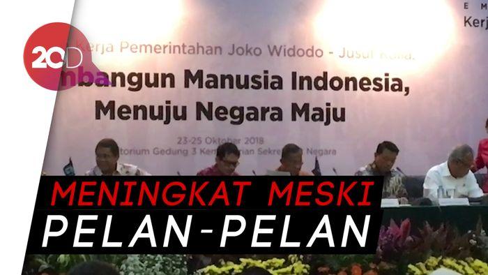 Darmin Sebut Ekonomi RI Meningkat di 4 Tahun Era Jokowi-JK