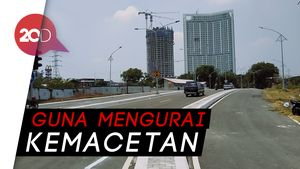 Overpass Bundaran Satelit Surabaya Diuji Coba Hari Ini