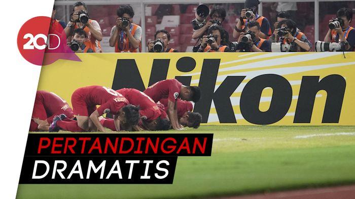 Kalahkan UEA 1-0, Indonesia Lolos ke-8 Besar Piala Asia U-19