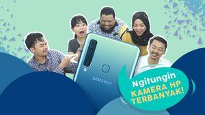 Samsung A9, Smartphone dengan Kamera Belakang Terbanyak di Dunia!