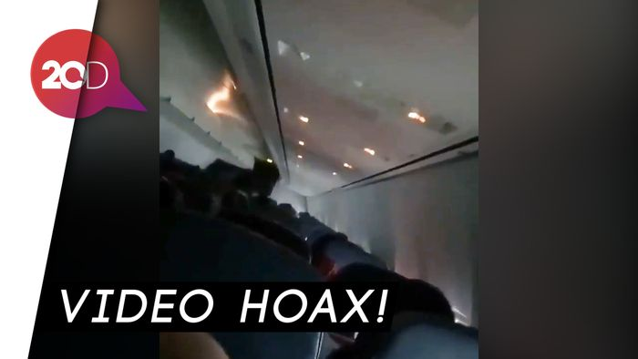 Hoax! Video Kepanikan Penumpang Lion Air JT 610 Sebelum Jatuh