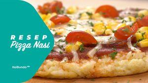 Resep Pizza Nasi