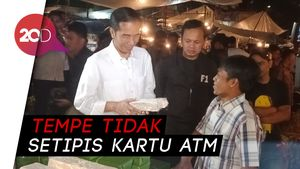 Buktikan Tempe Tetap Tebal, Jokowi Sindir Sandiaga Uno?