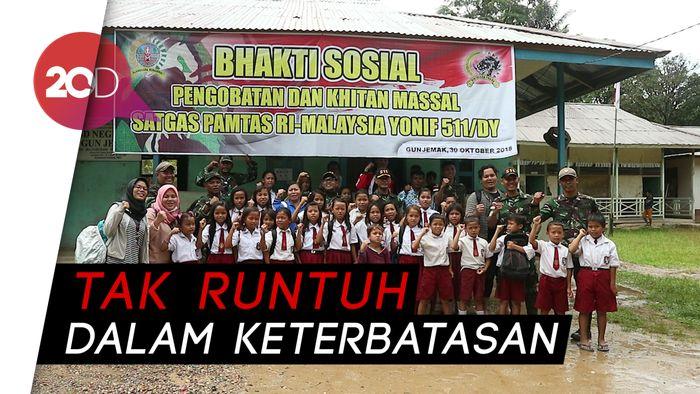 Semangat dan Cita Anak Indonesia di Ujung Batas Negeri