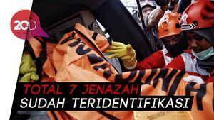 DVI Polri Terima 105 Kantong Jenazah Korban Lion Air PK-LQP