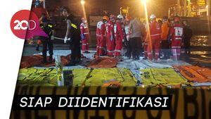 Total 137 Jenazah Korban Lion Air PK-LQP Diterima RS Polri