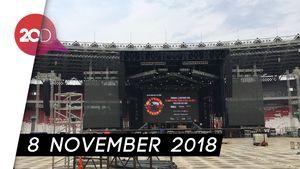 Manggung di Jakarta, Guns N Roses Bakal Nyanyi 3 Jam
