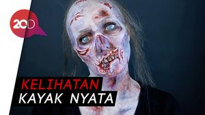Lihat Tipuan Makeup Artist Spesialis Karakter Horror