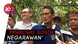 Prabowo Minta Maaf soal Tampang Boyolali, Sandi: Sangat Negarawan