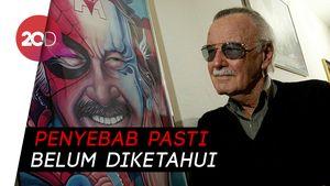 Sebelum Meninggal, Stan Lee Sempat Sakit Pneumonia