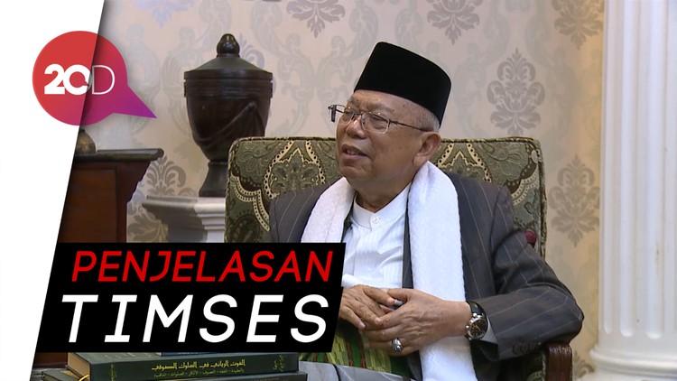 Soal Diksi Budek-Buta Maruf Amin, Akankah Minta Maaf?
