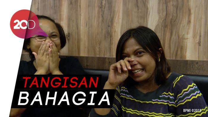 Ditraktir Makan Jokowi, TKI Malah Nangis