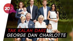 Gemasnya Pangeran Louis di Foto Ulang Tahun Sang Kakek