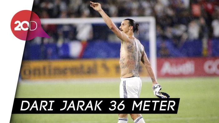 Gol Spektakuler Ibrahimovic Jadi yang Terbaik di MLS