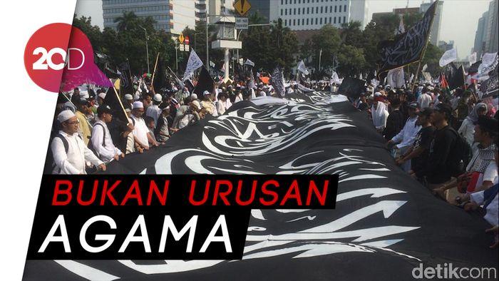 14 Ormas Islam Minta Bendera Tauhid Tak Dijadikan Alat Kampanye