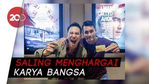 Cara Daniel Mananta dan Arifin Putra Support Film Masing-masing