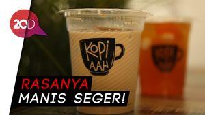 Menyeruput Es Kopi Susu Premium Ditemani Maryam Keju Renyah
