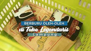 Berburu Oleh-oleh di Toko Legendaris, Lampung