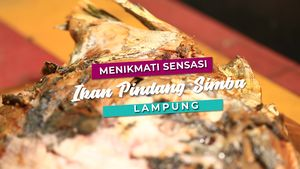 Menikmati Sensasi Ikan Pindang Simba, Lampung