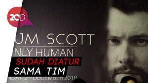 Begini Persiapan Konser Calum Scott di Jakarta