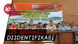 Proses Identifikasi Korban Lion Air PK-LQP Berakhir