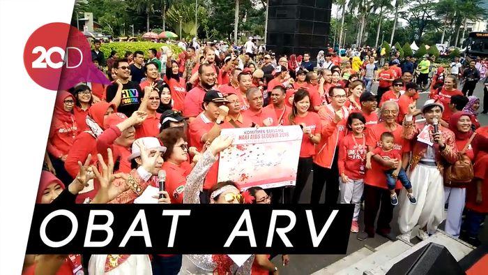 Dinkes Jakarta Sediakan Obat Gratis Bagi Pengidap HIV