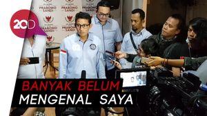 Sandiaga: Rakyat Indonesia Kenal Prabowo 98,7%, Saya di Bawah 70%