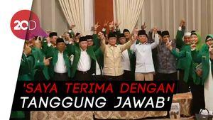 Prabowo Didukung PPP Muktamar Jakarta: Saya Terima Deklarasi Ini