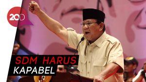 Prabowo Sebut Korupsi Stadium 4: Butuh Kepemimpinan Tegas!