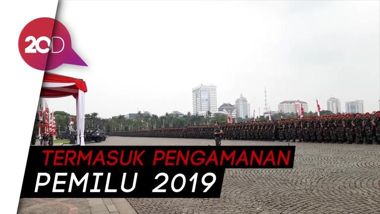 TNI-Polri Apel Kesiapan Pengamanan Natal & Tahun Baru