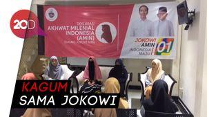 Dukungan Baru Untuk Jokowi dari Wanita Muslim Milenial