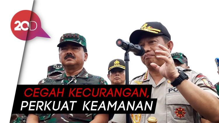 Papua dan Dapil Rawan Konflik Lainnya jadi Atensi TNI-Polri