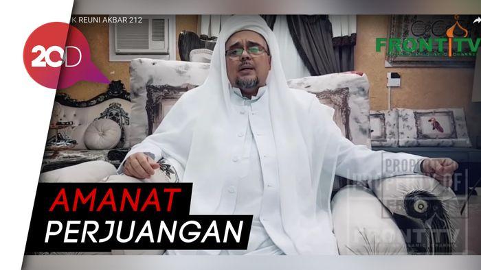 Di Reuni 212, Habib Rizieq Tegaskan 2019 Ganti Presiden