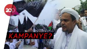 Habib Rizieq Haramkan Pilih Capres-Caleg Partai Penista Agama