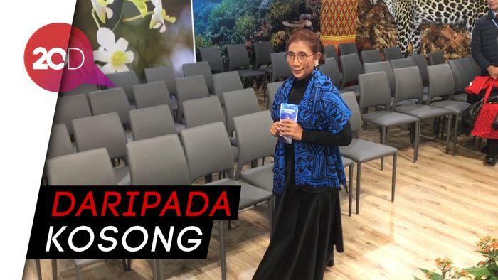 Menteri Susi Mendadak Jaga Paviliun Indonesia di Polandia