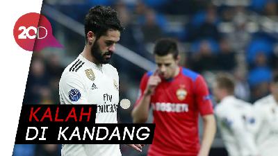 Kekalahan Memalukan Bagi Madrid