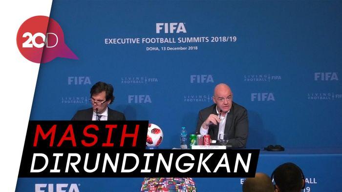 FIFA Isyaratkan Peserta Piala Dunia 2022 Jadi 48 Negara