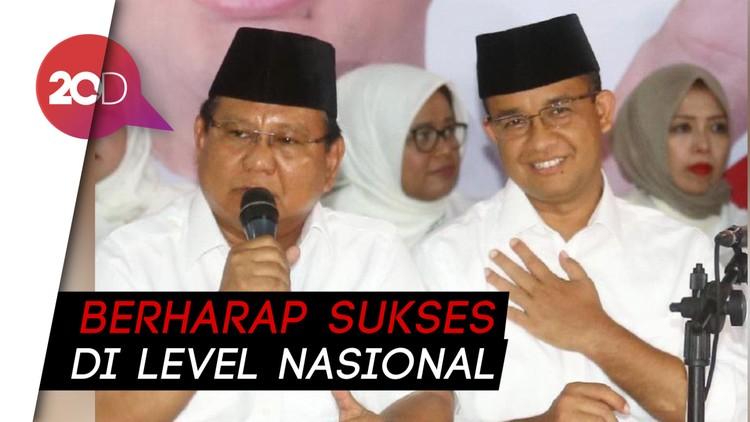 Anies Harap Kemenangannya di Pilgub DKI Menular ke Prabowo-Sandi
