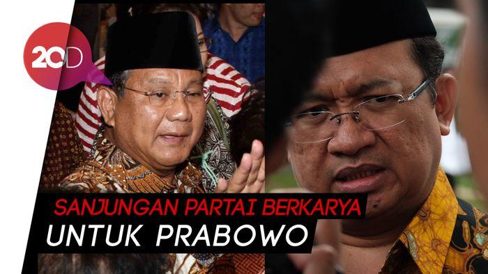 Partai Berkarya: Sukarno dan Soeharto Melekat pada Diri Prabowo