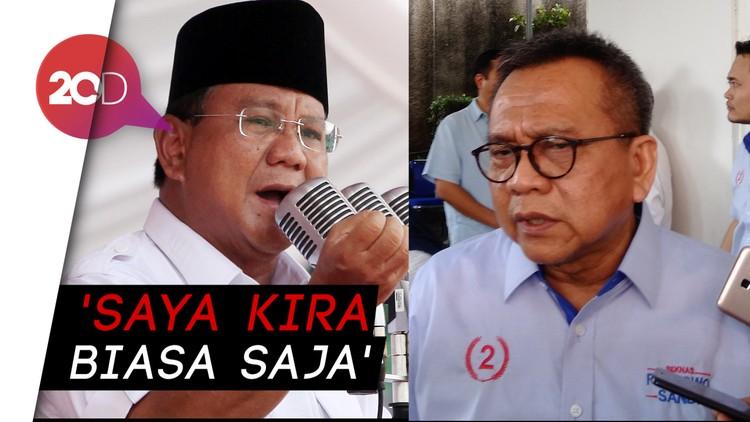 Soal Negara Punah Prabowo, M Taufik: Untuk Semangati Kader