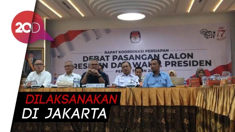 5 Tema Telah Disiapkan Untuk Debat Pilpres 2019
