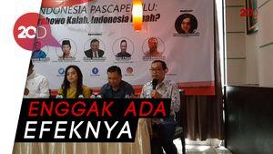 Prabowo Sebut Indonesia Punah Tapi Tak Pengaruhi Elektabilitas