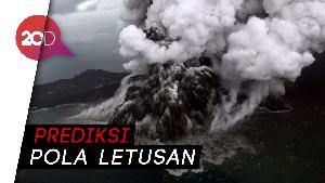 Badan Geologi Fokus Amati Pola Letusan Anak Krakatau