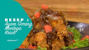 Resep Ayam Goreng Mentega Kriuk